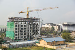 Construction building in Rayong province. Thailand Stock Image