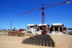Construction Building Site Royalty Free Stock Photo