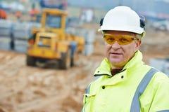 Construction building site foreman Stock Photos