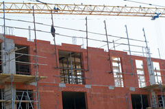 Construction of buildings Royalty Free Stock Images