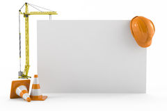 Construction, business card concept Stock Photo