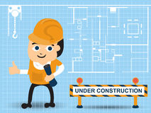 Construction business Royalty Free Stock Photography