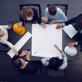 Construction business meeting Royalty Free Stock Image