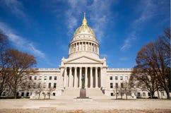 Construction capitale à Charleston la Virginie Occidentale image libre de droits