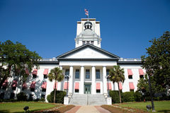 Construction capitale historique de Tallahassee la Floride Photo stock