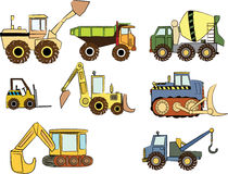 Construction cars Stock Images