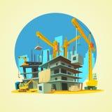 Construction Cartoon Illustration Stock Photo