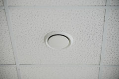 The construction of the ceiling, close-up Royalty Free Stock Images