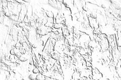 Construction cement background in white gray hues. Construction cement wall background with shapes and forms, abstract background in white gray hues and colors Royalty Free Stock Photography