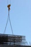 Construction centrale commerciale Photo stock