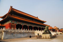 Construction chinoise Image libre de droits