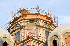 Construction of church Royalty Free Stock Photography