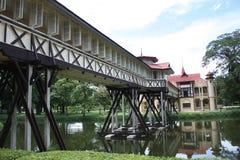 Construction classique thaïe Photo stock