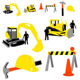 Construction Collection Royalty Free Stock Photo