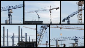 Construction stock video