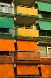 Construction colorée Photo stock