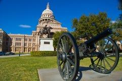 Construction colorée de capitale de l'État du Texas simple photos libres de droits