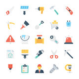 Construction Colored Vector Icons 1 Stock Image