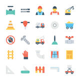 Construction Colored Vector Icons 4 Royalty Free Stock Image