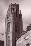 Construction commémorative de volontés d'université de Bristol photos stock