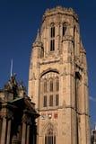 Construction commémorative de volontés, université de Bristol photos stock