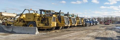 Construction Company Yard Royalty Free Stock Photo