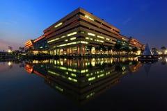 Construction complexe de gouvernement de la Thaïlande Images stock