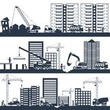 Construction Composition Black Stock Photos