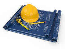 Construction concept. Royalty Free Stock Image