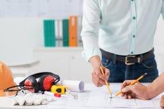 Construction concept Royalty Free Stock Photos