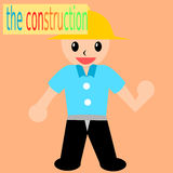 The construction. Concept  drawings of construction Royalty Free Illustration