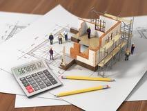 Construction concept. Stock Photos