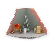 Construction concept, Royalty Free Stock Image