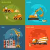 Construction Concept Set Stock Photography