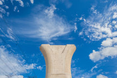 Construction Concrete Column Royalty Free Stock Images