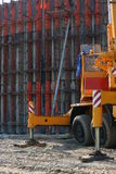 Construction concrete wall 4 Stock Photography