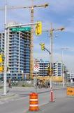 Construction of condominiums Royalty Free Stock Photos