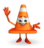 Construction Cone Character Royalty Free Stock Photos