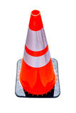 Construction cone isolated Royalty Free Stock Images