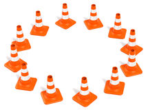 Construction Cones Ring Stock Images