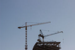 Construction,construction crane Royalty Free Stock Images