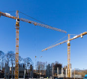 Construction and construction site Stock Photography