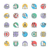Construction Cool Vector Icons 3 royalty free stock image