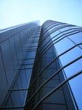 Construction corporative moderne d'affaires d'une institution financière Photographie stock libre de droits
