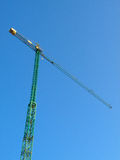 Construction crane Stock Image