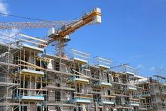 Construction_crane Imagens de Stock Royalty Free