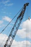 Construction Crane. On a Blue Sky Stock Photos