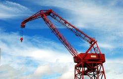 Construction Crane. On the Tacoma docks Royalty Free Stock Images