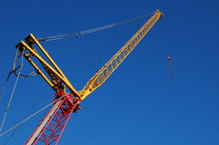 Construction crane Stock Images