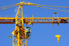 Construction crane. royalty free stock images